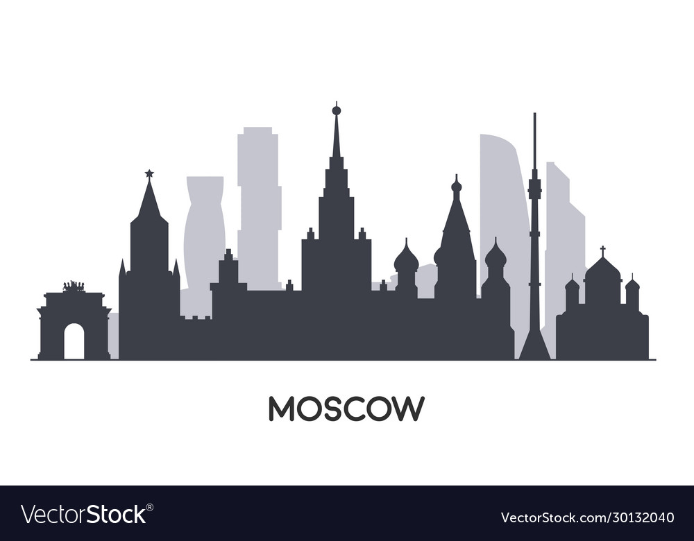 Panorama moscow flat style
