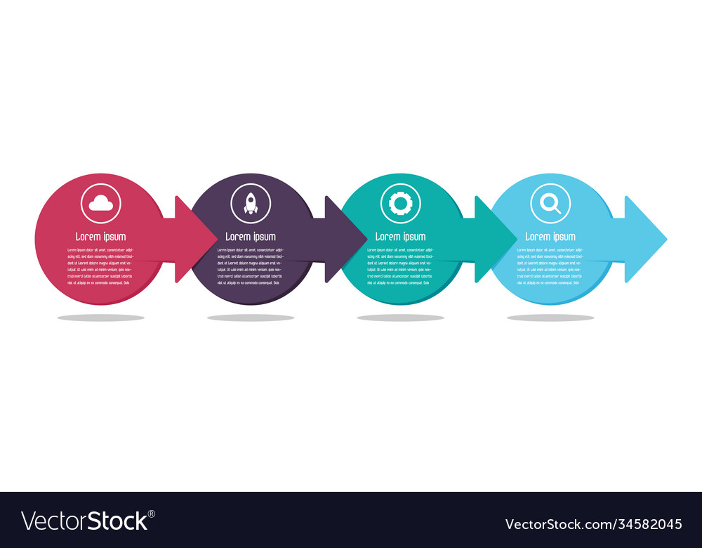 Abstract inforaphic background for presentation