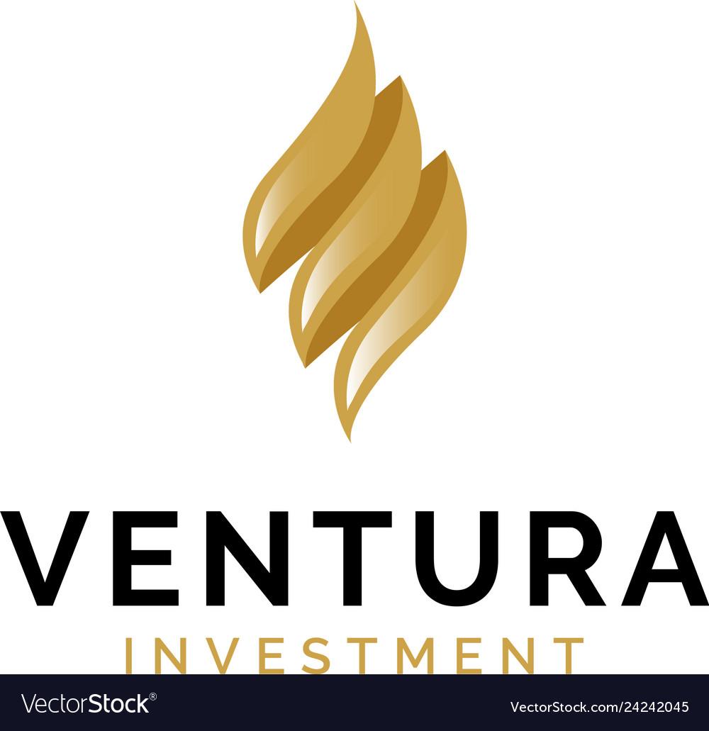 Finance investment logo design inspiration