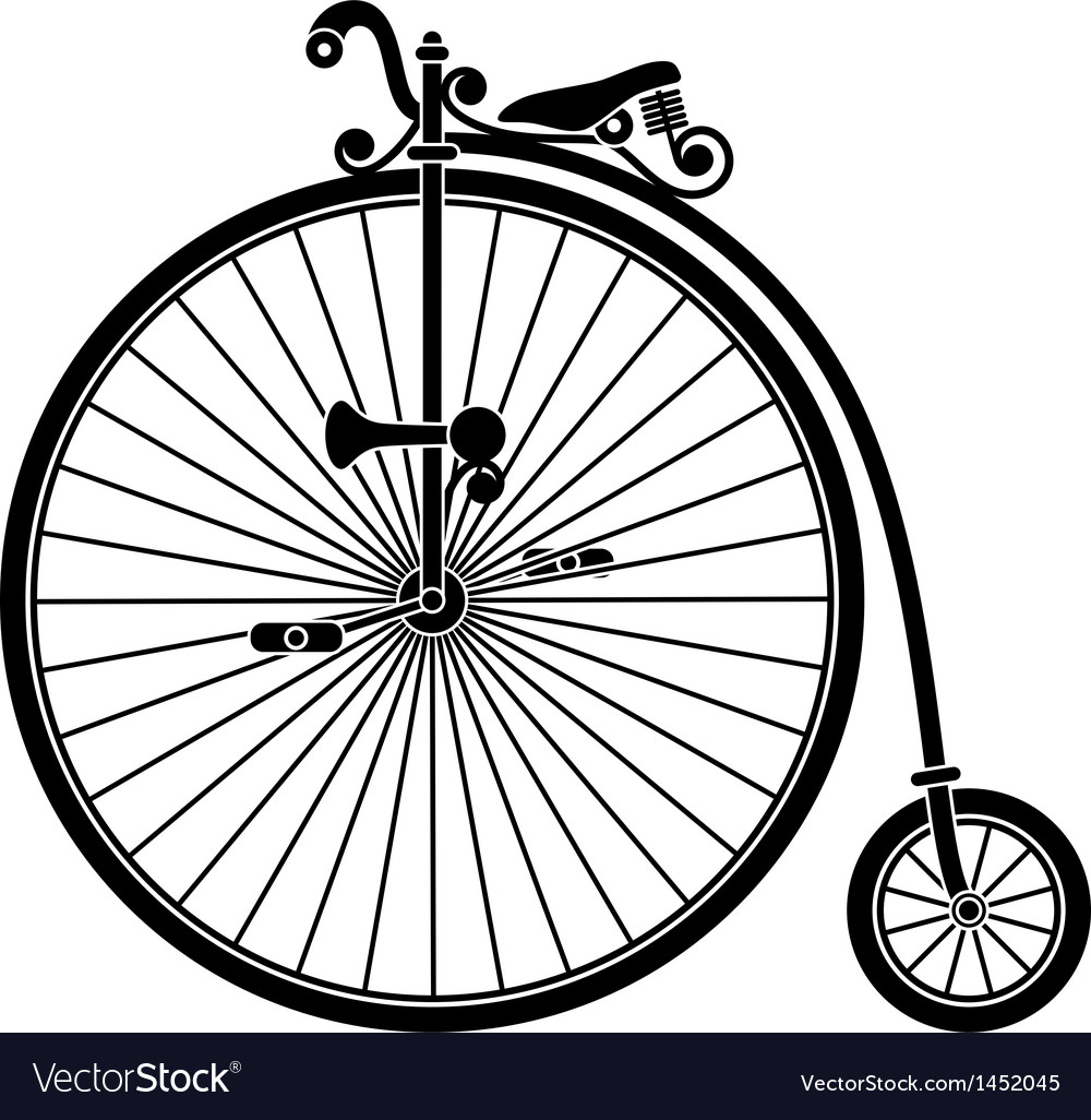 Penny Farthing Antique Vintage Bicycle