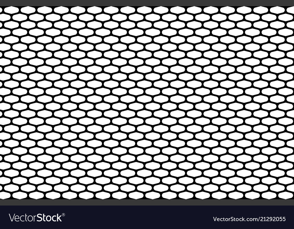 Abstract pattern black net on white