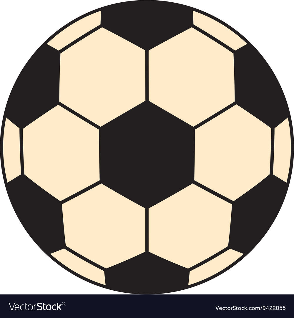 black and white soccer ball graphic royalty free vector rh vectorstock com soccer ball graphics printable soccer ball background - motion graphic (videohive)