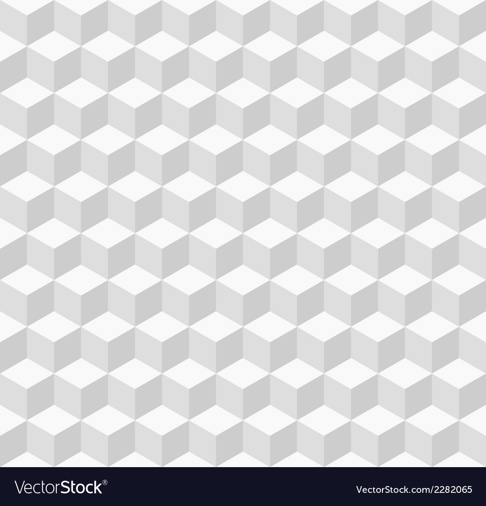 White geometric seamless background