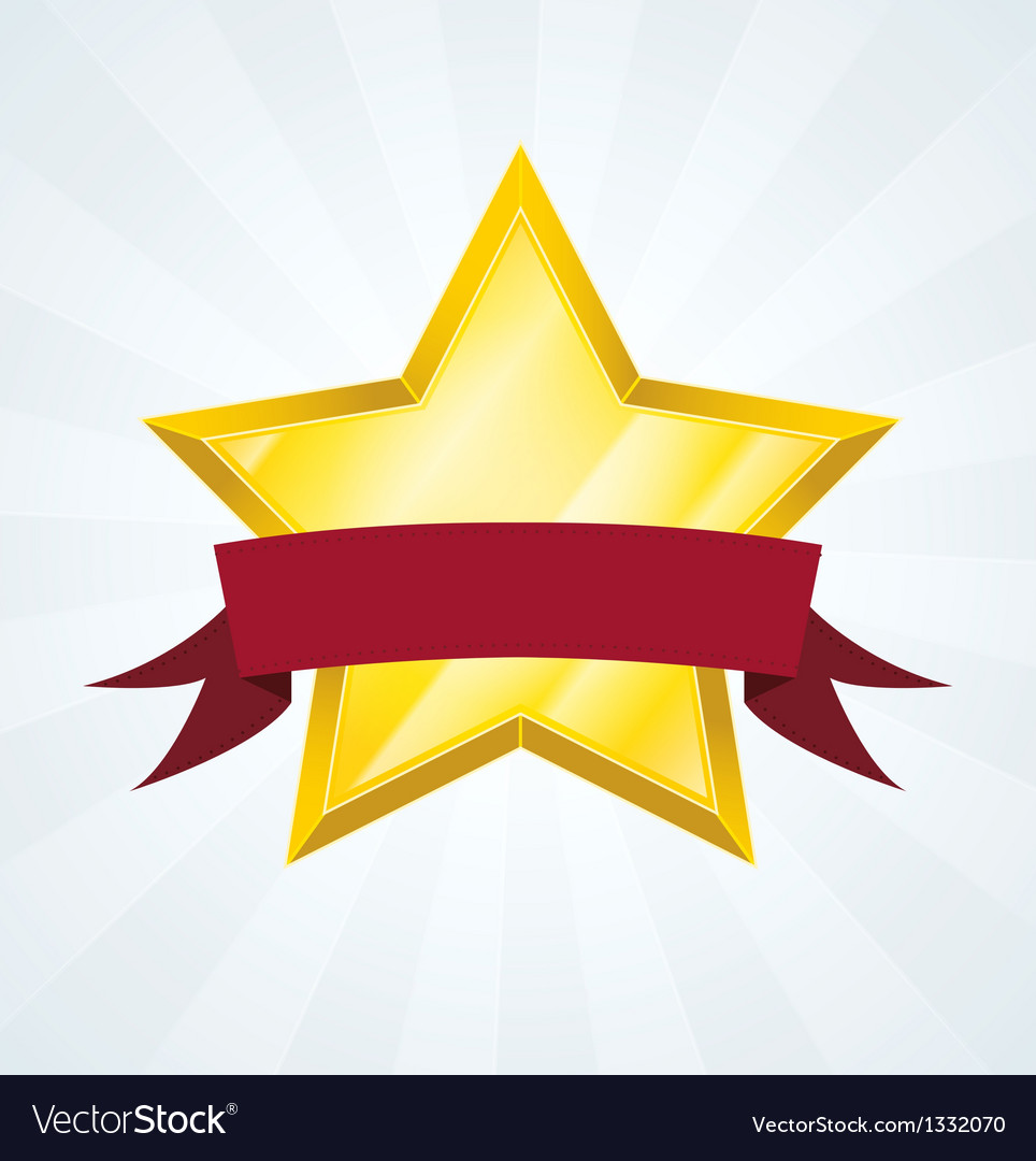 Best Ranked Star Review Banner vector image