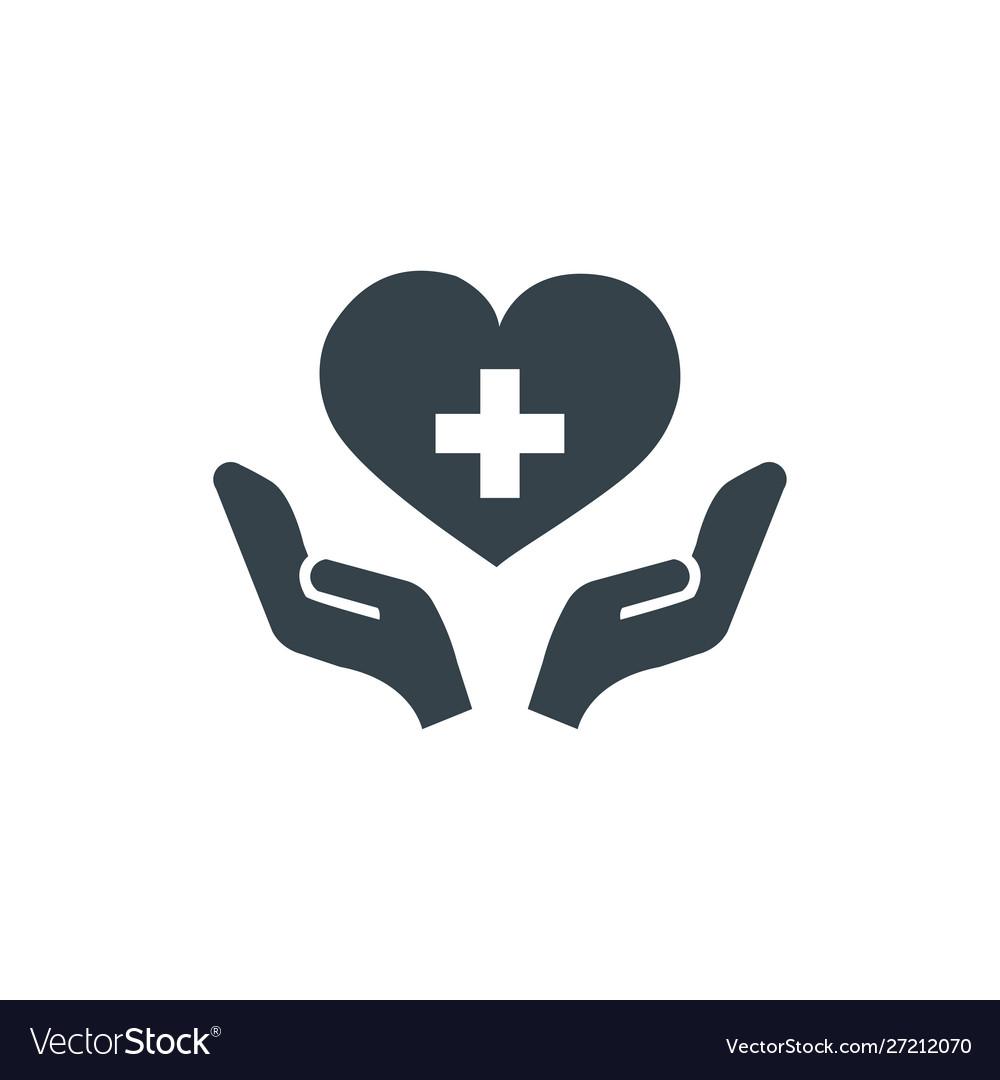 Health care concept logotype template design