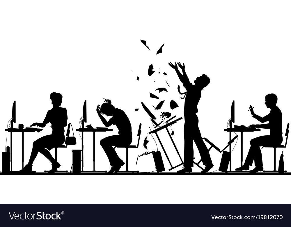 Office worker rebellion