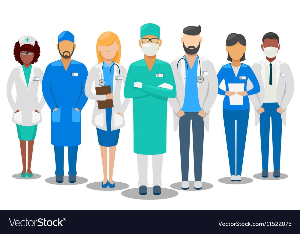 Medical team Hospital staff