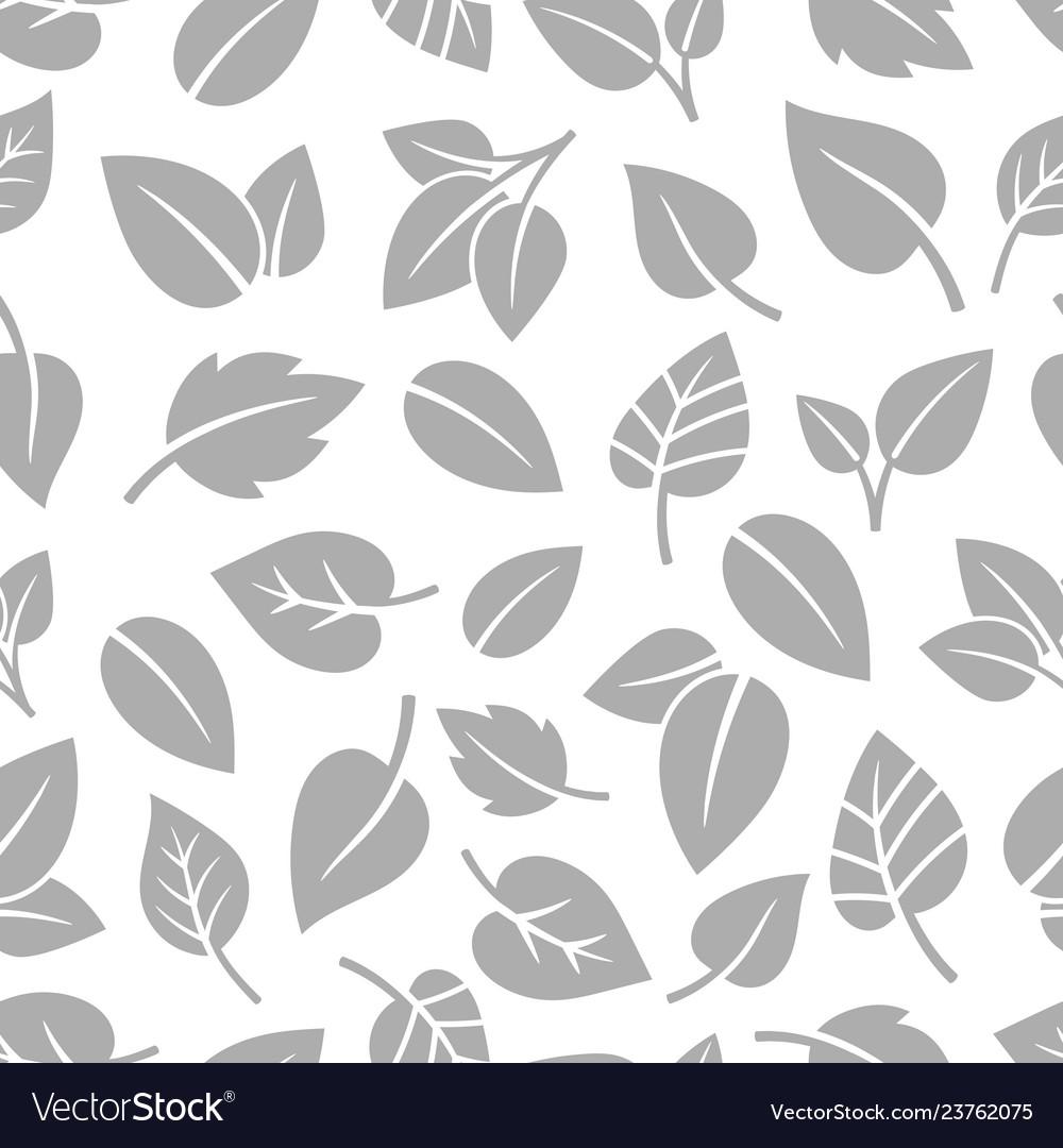 Monochrom foliage pattern