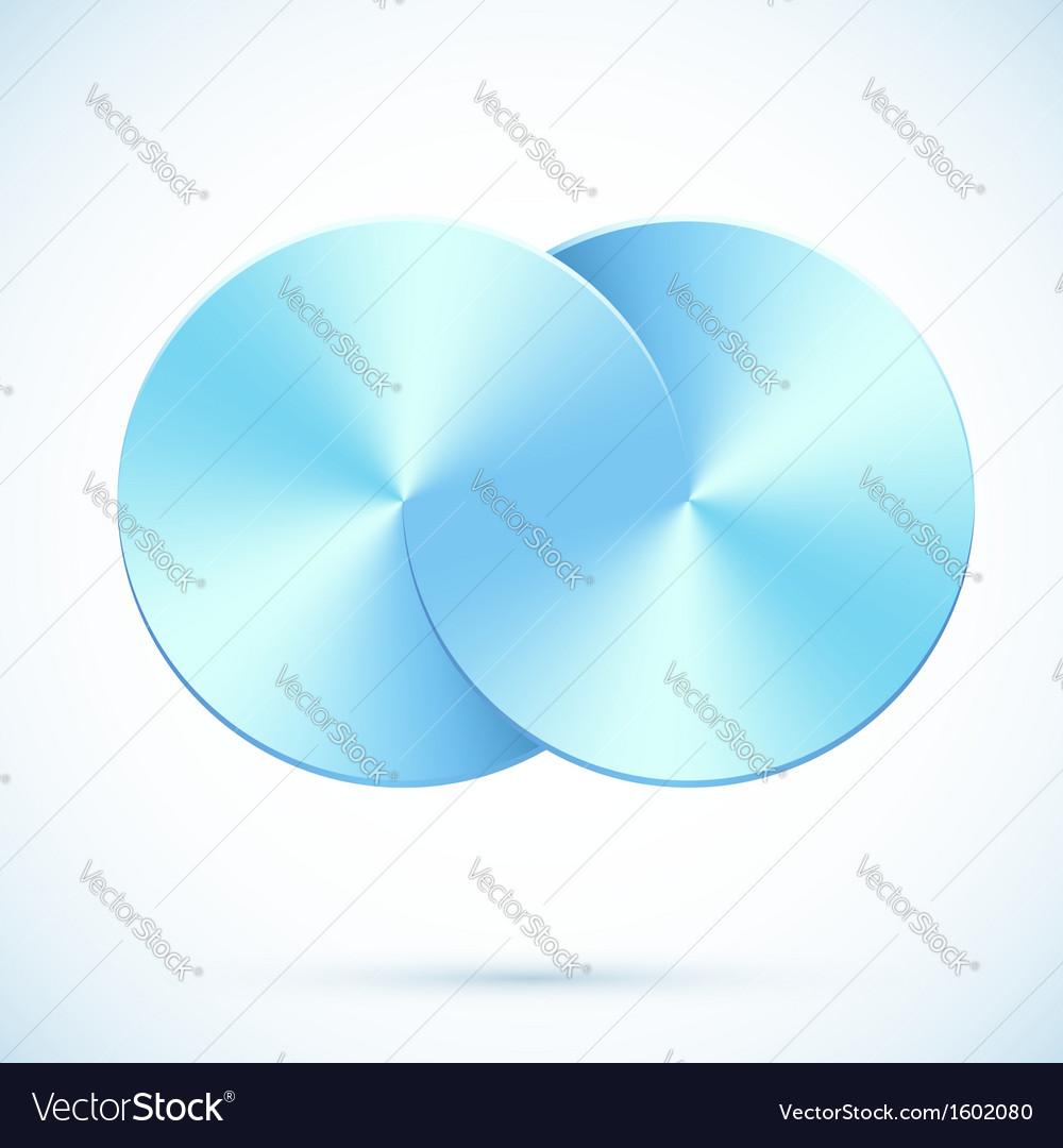 Blue circles infinity