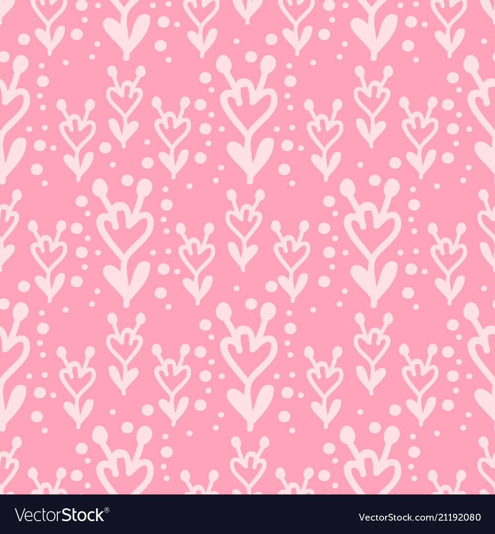 Floral seamless swirl mehendi flower pattern