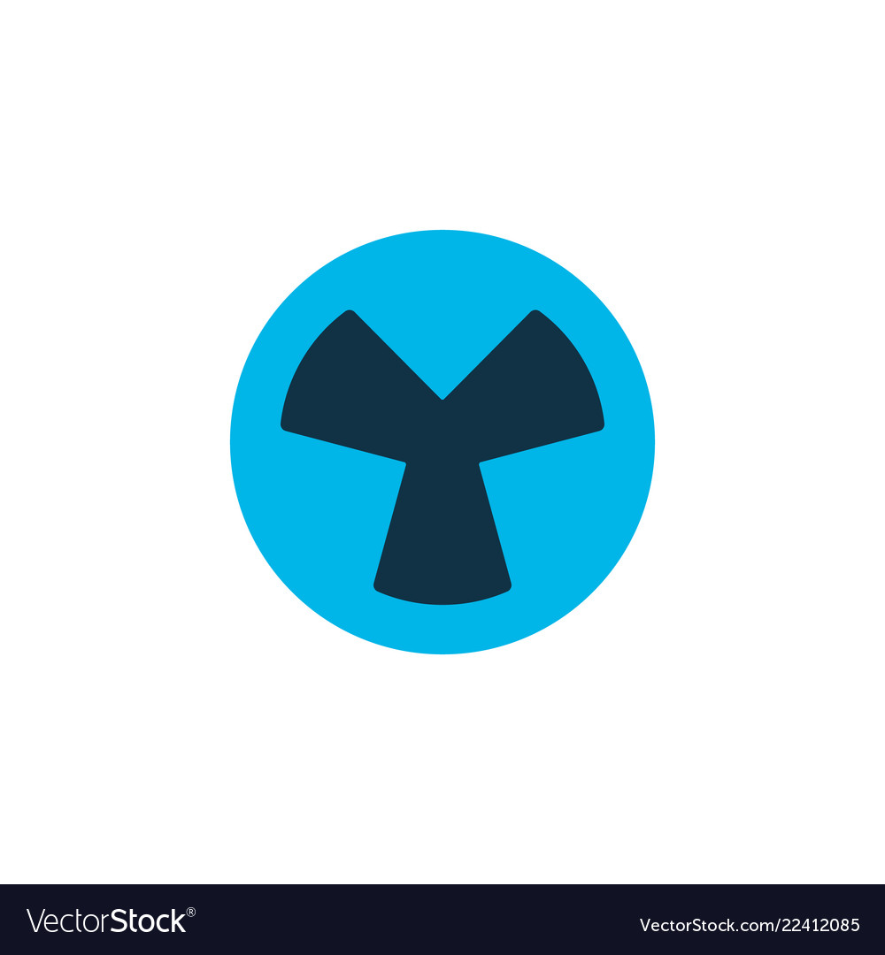 Fan icon colored symbol premium quality isolated