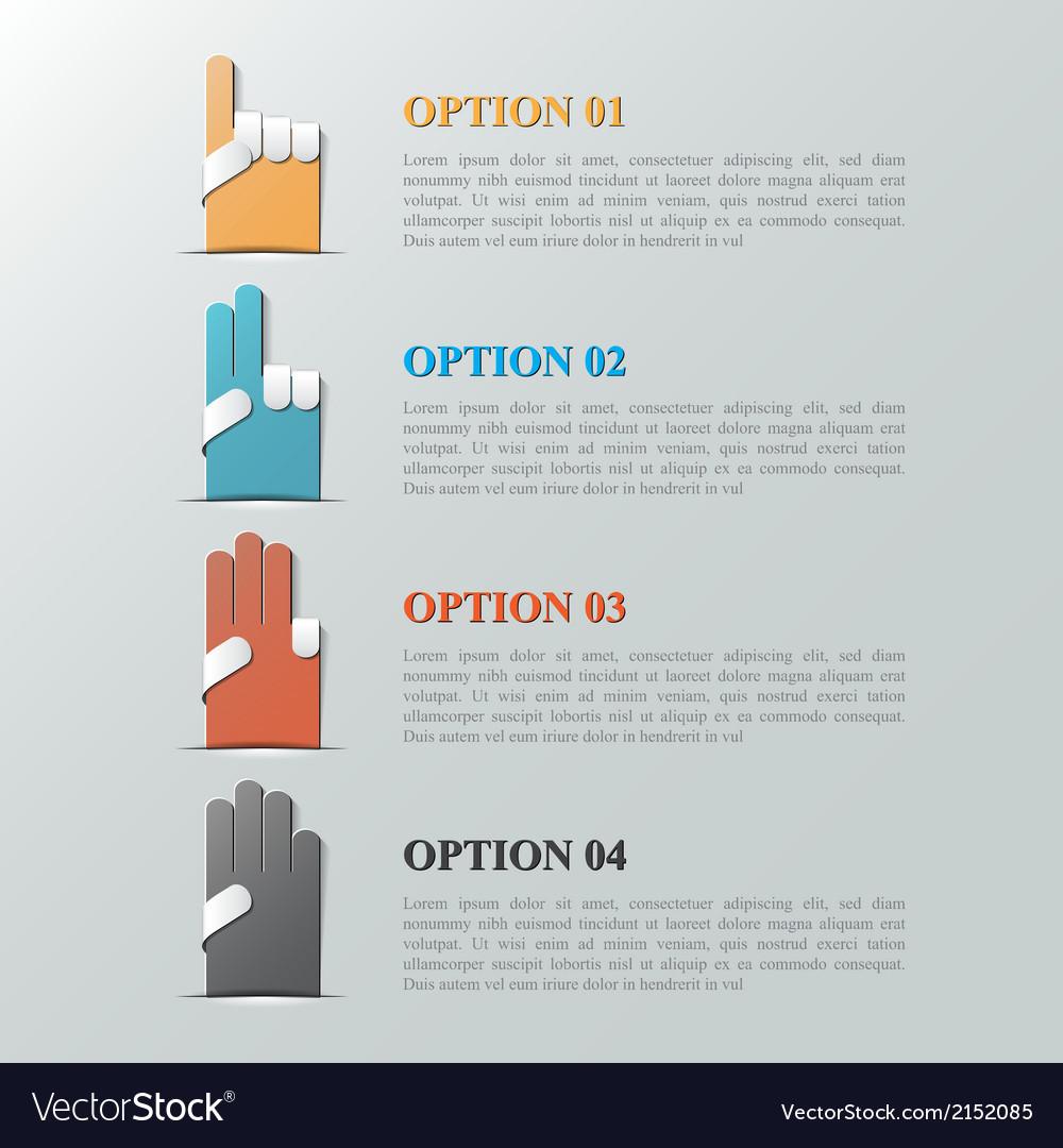 Info graphic design template eps 10