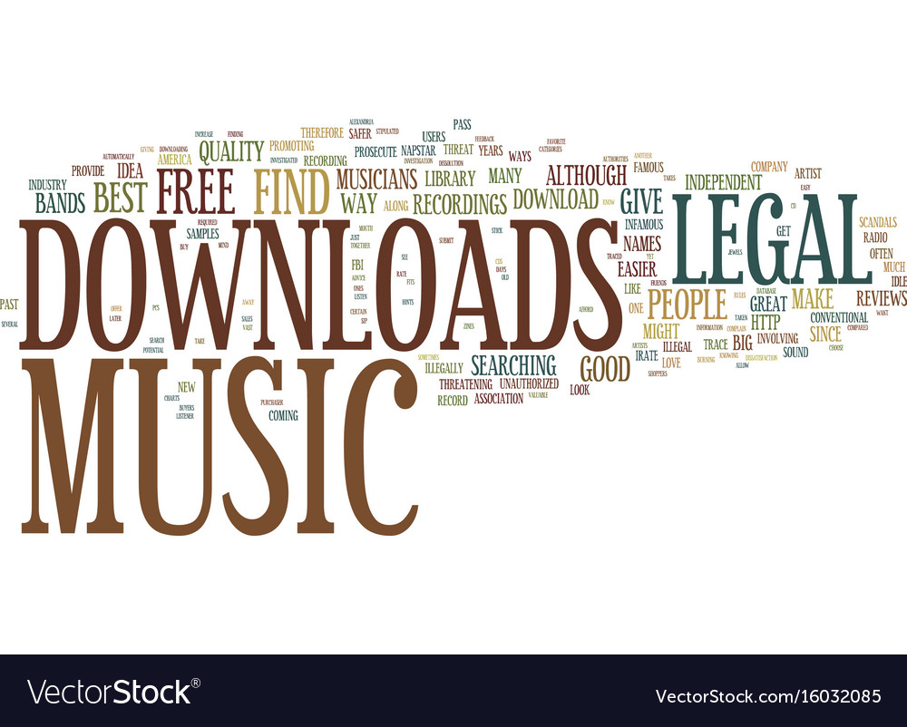 download music for free legal