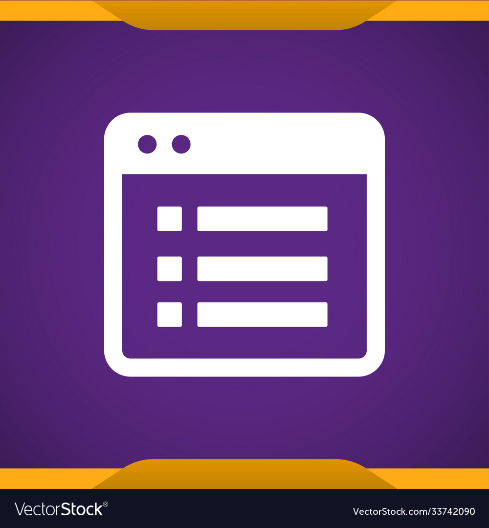 File list icon