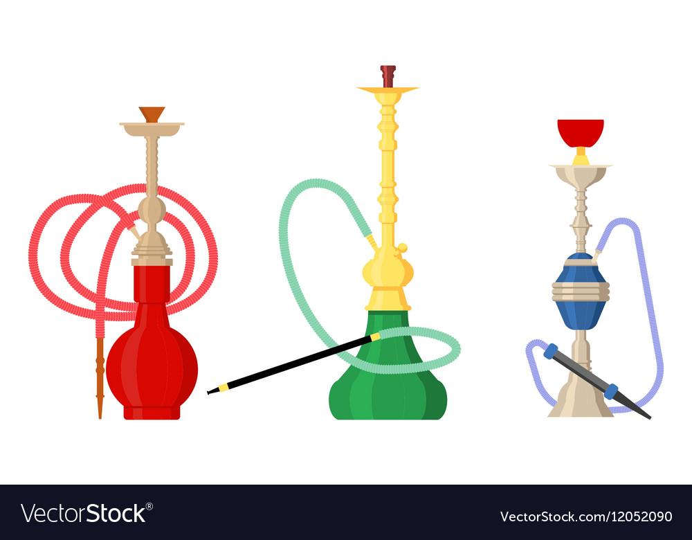 sc 1 st  VectorStock & Pipe smoke or hookah for turkish tobacco Vector Image