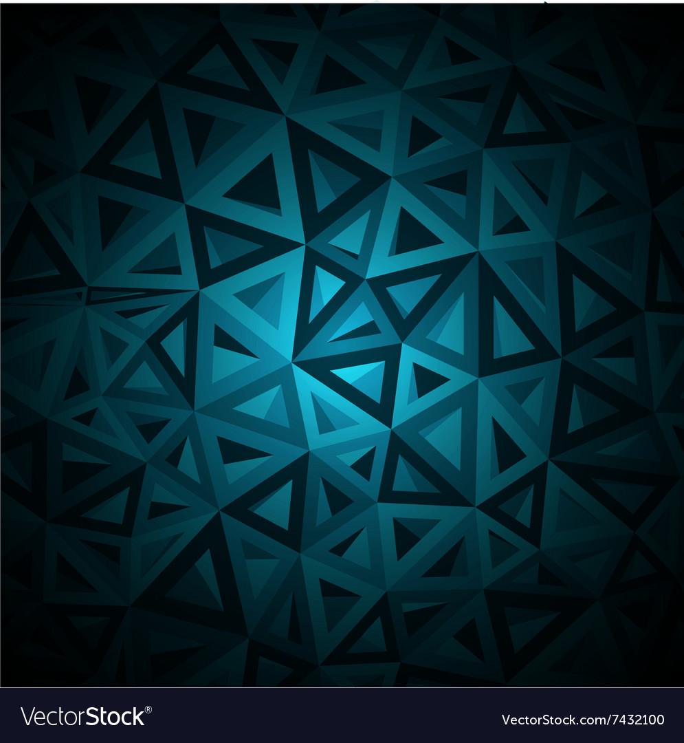 Diamonds triangle abstract pattern