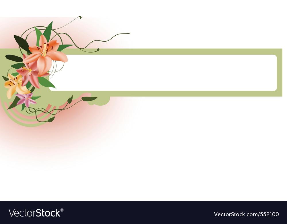 elegant floral border royalty free vector image floral border vector cdr floral border illustrator vectors
