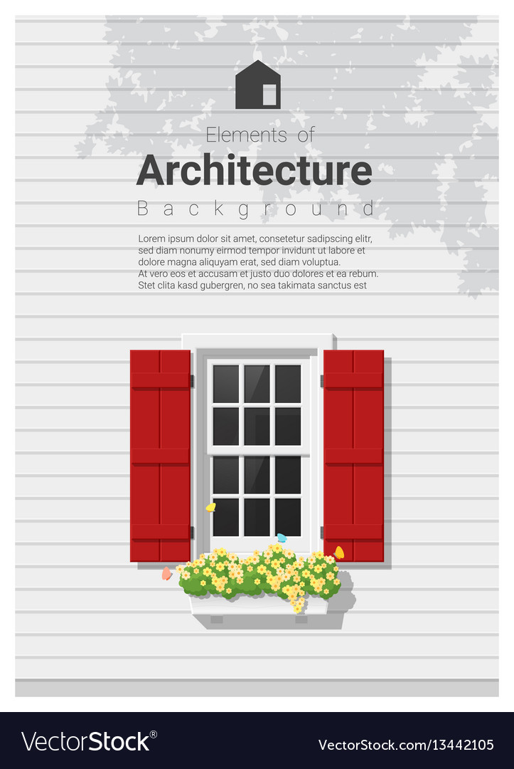 Elements of architecture window background 5