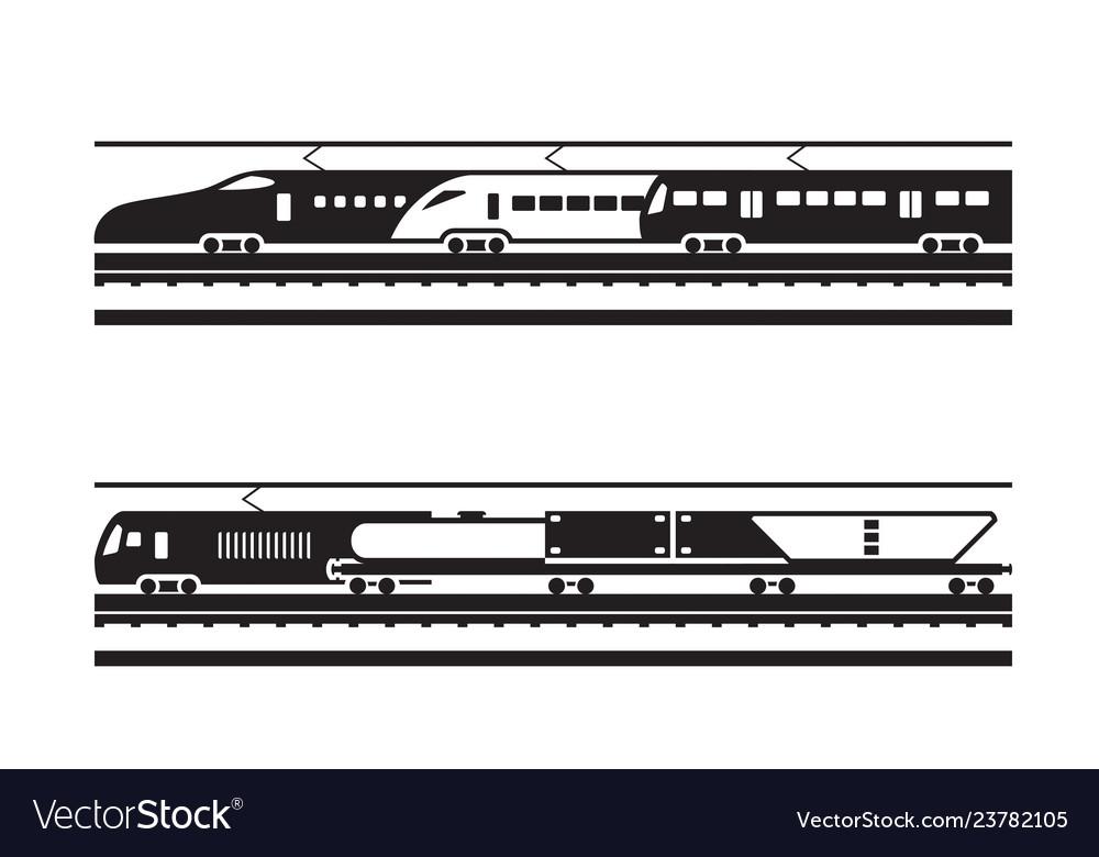 Passenger and freight railway transportation