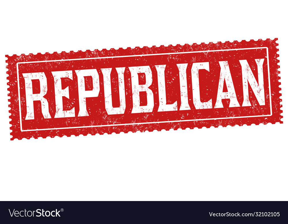 Republican sign or stamp