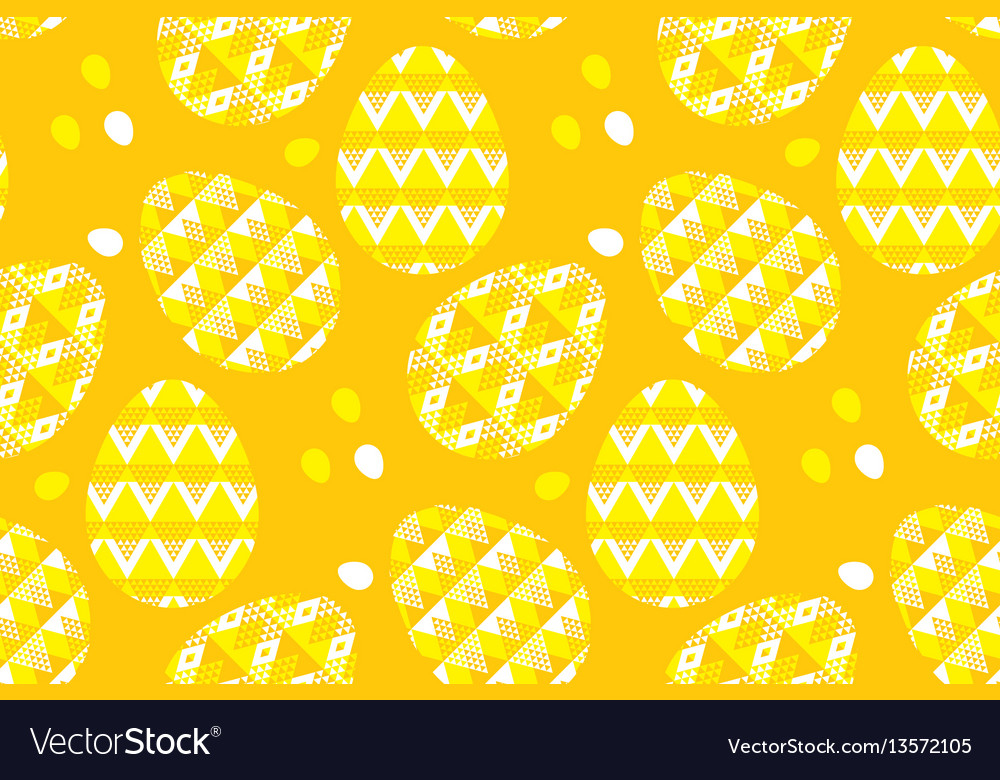 Tribal geometry concept easter egg decoration