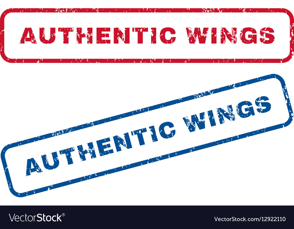 Authentic Wings Rubber Stamps