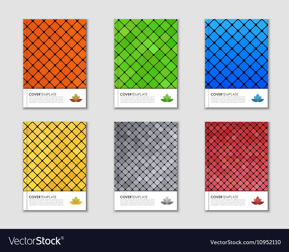 Covers with mosaic texture