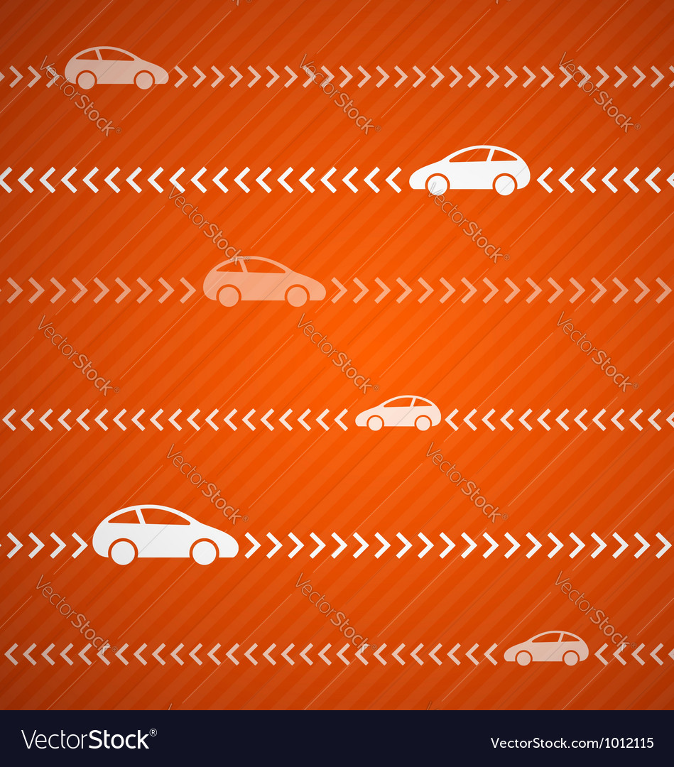 Car abstract background vector image