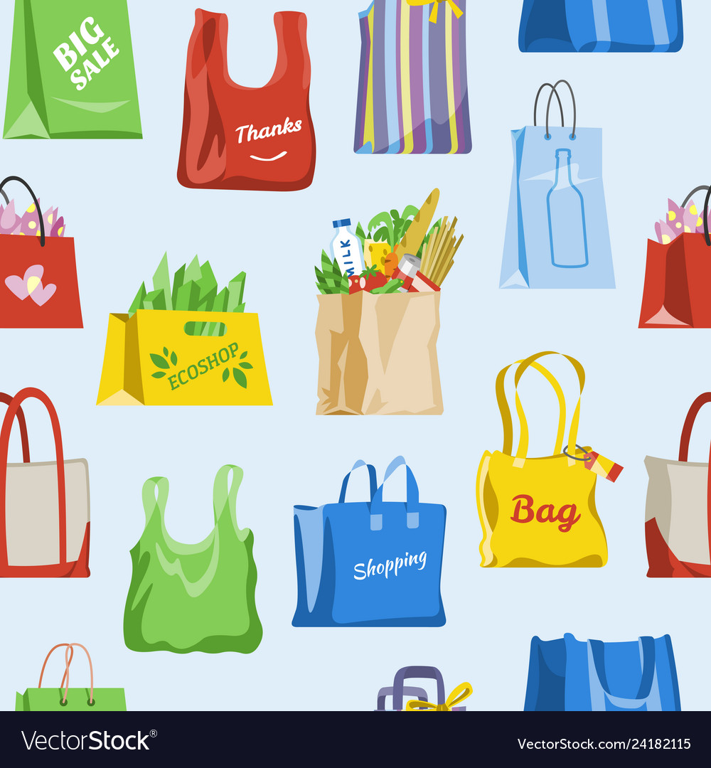 Shopping bag shop paper-bag and baggy