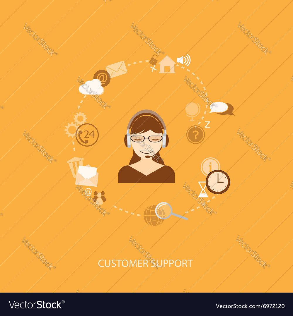 Flat elements of support