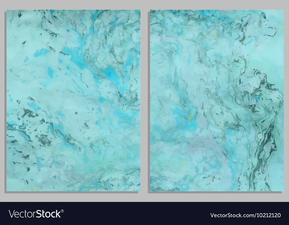 Marble business cards vector image