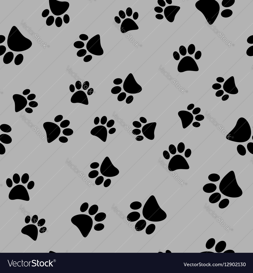 A seamless pattern of black