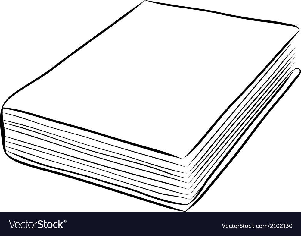 Cover book hand draw