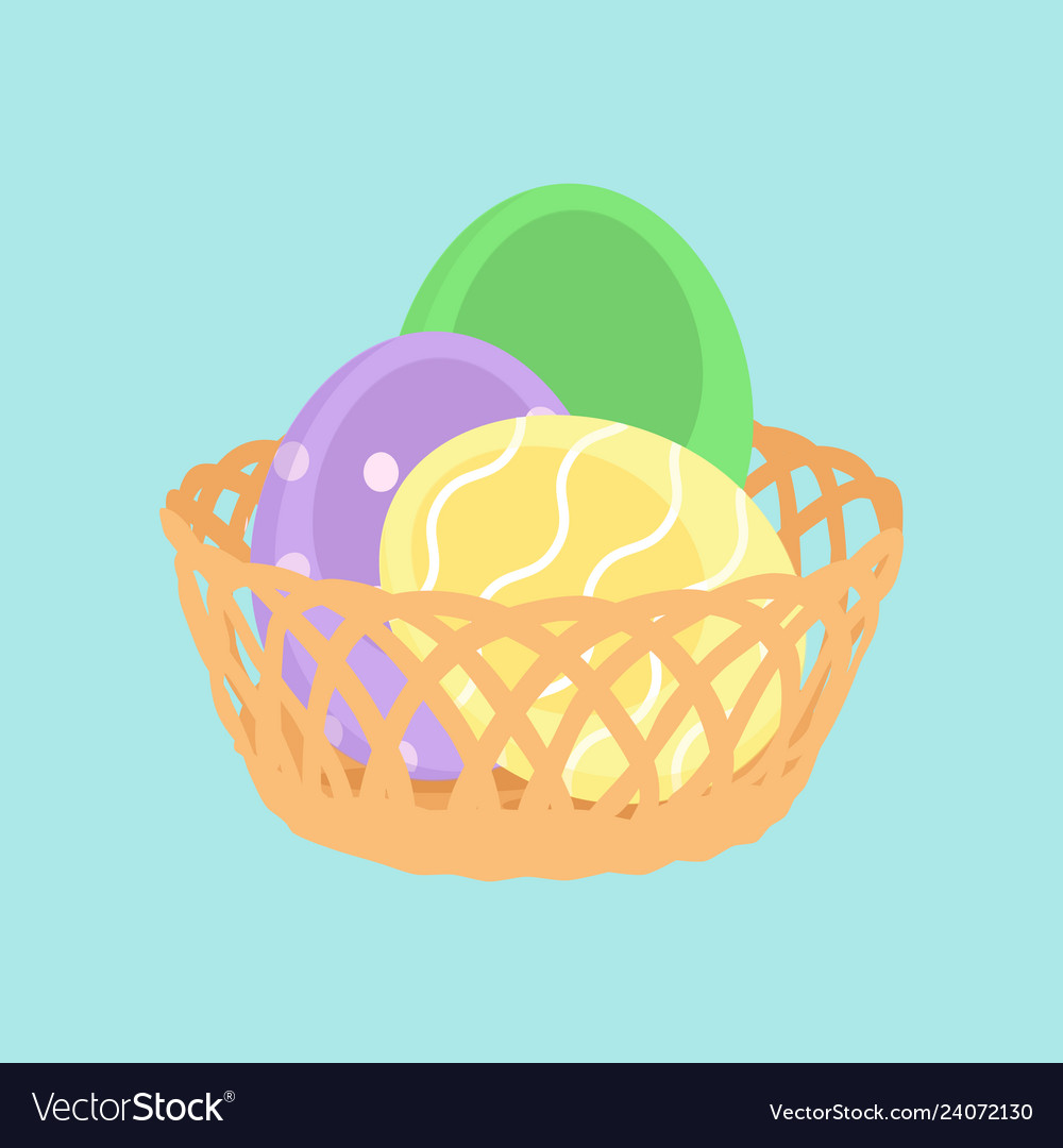 Easter eggs spring holiday