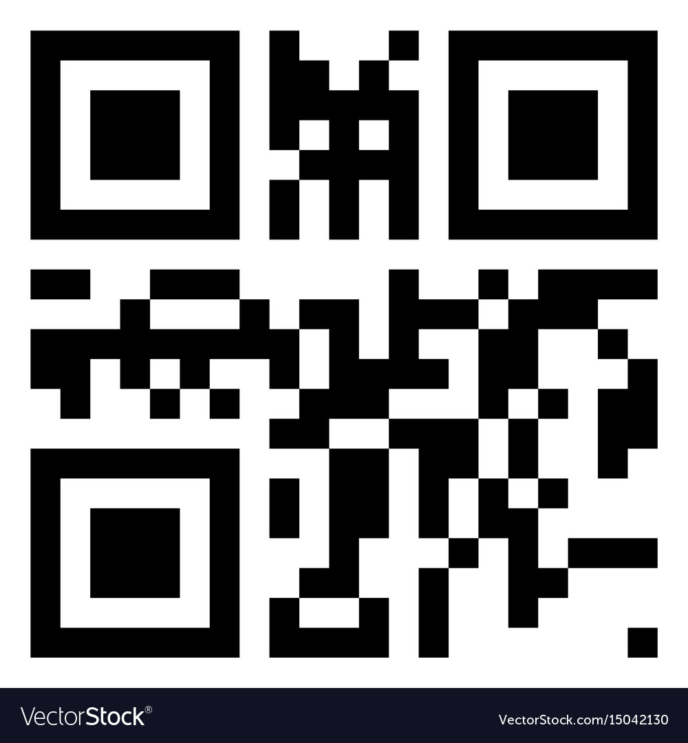Qr code Royalty Free Vector Image - VectorStock