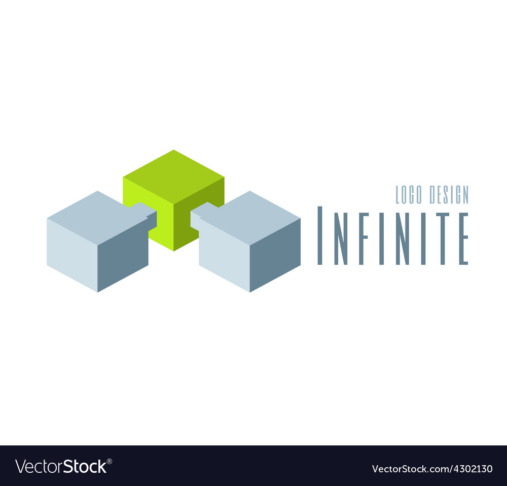 Techno Logo design template vector image
