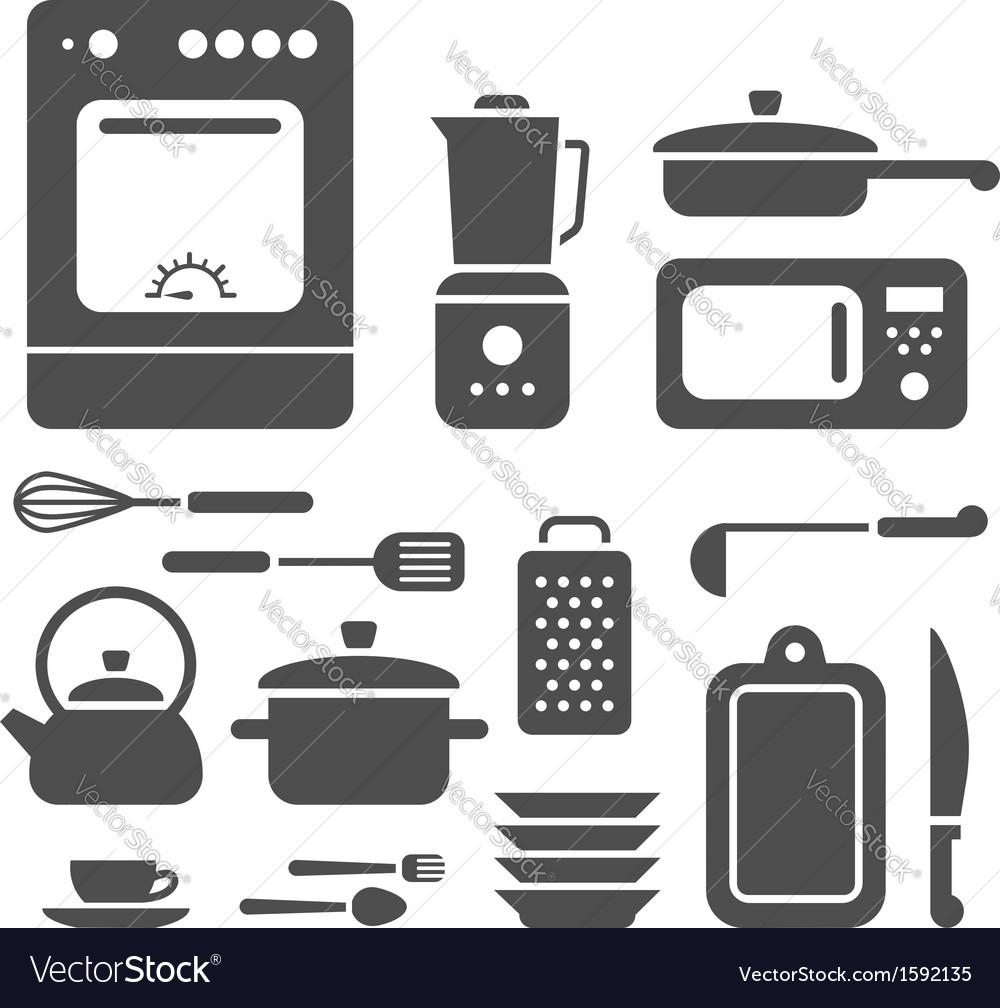 Set of cooking utensils