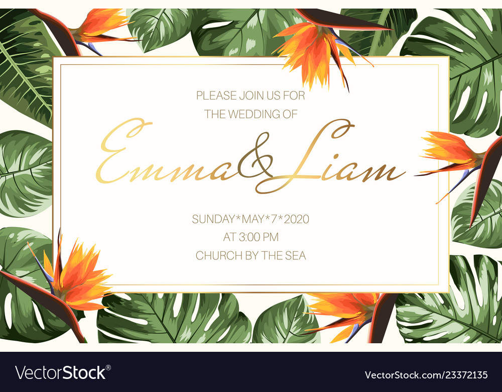 Wedding Event Invitation Rsvp Card Template Green