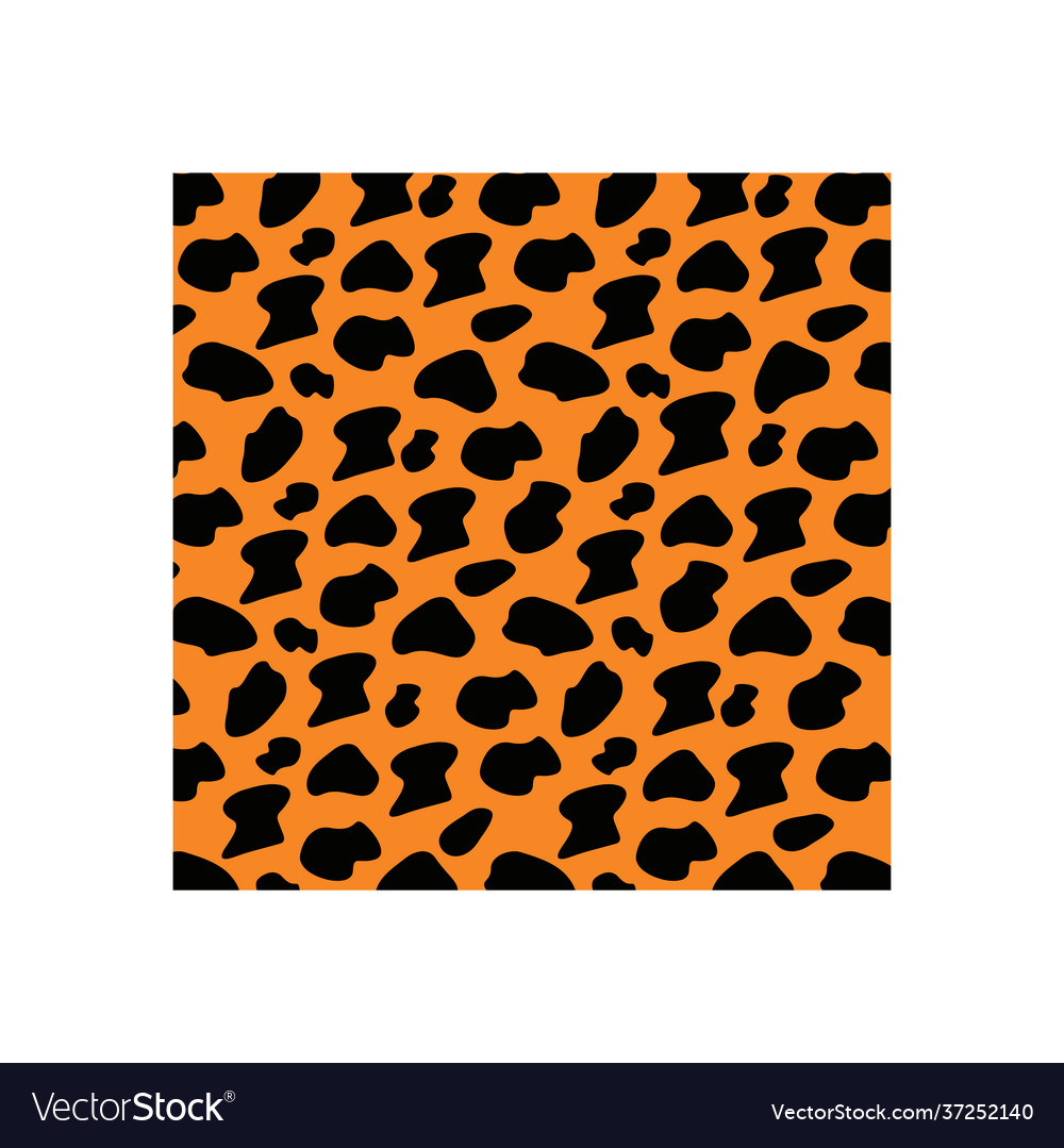 Jaguar skin icon design template