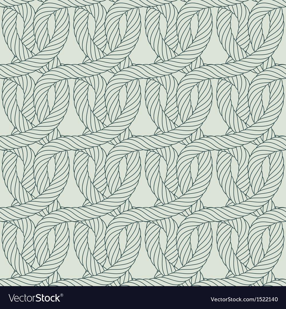 Rope weave Royalty Free Vector Image - VectorStock