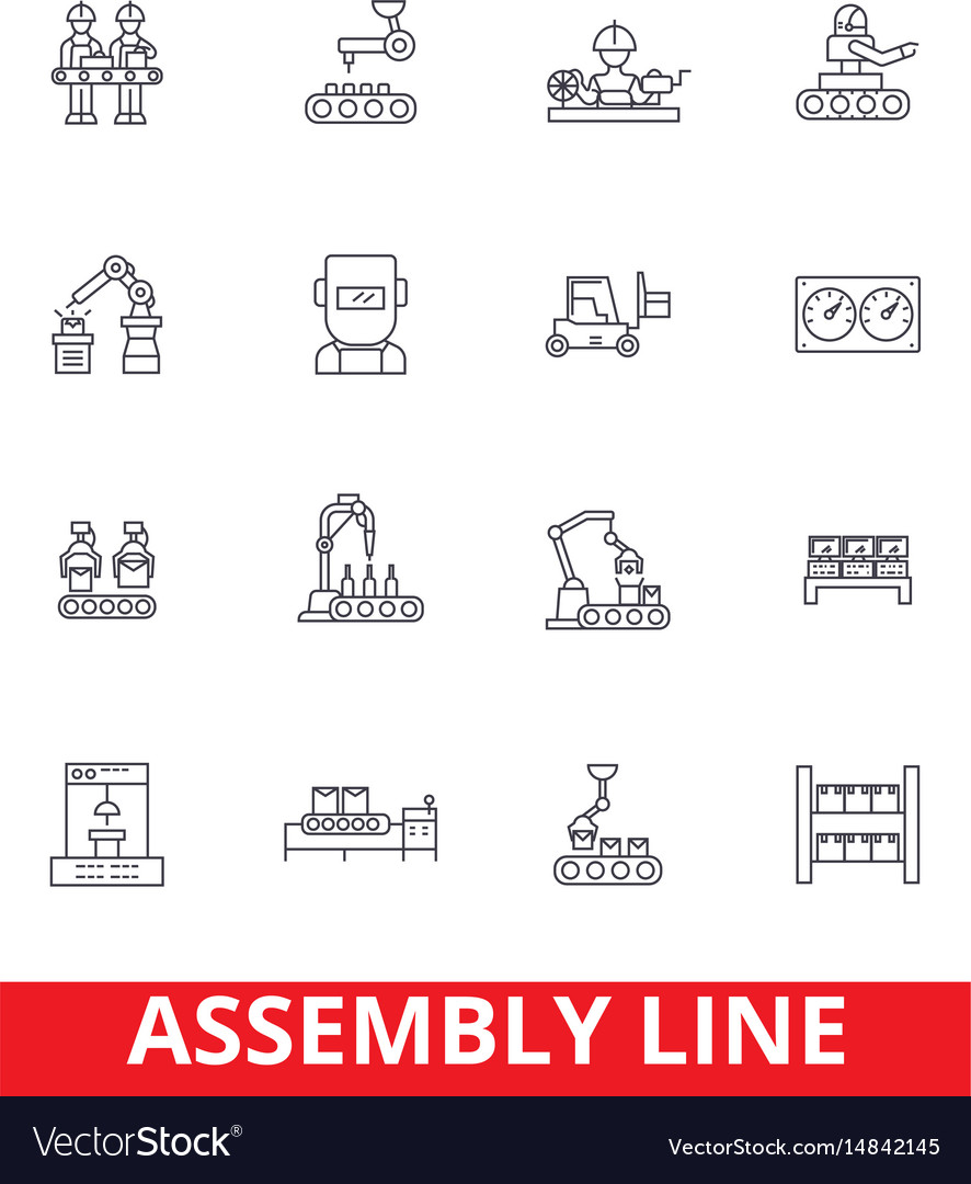 Assembly line factory industry manufacturing