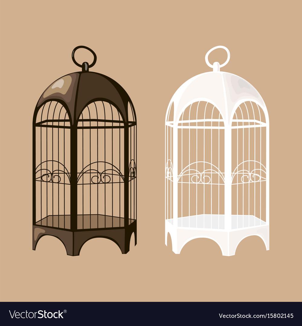 Bird cage set
