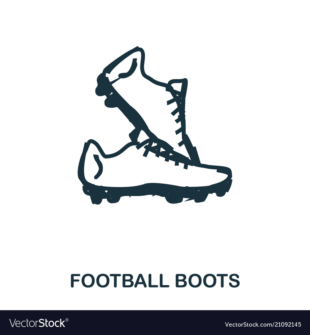 Football boots icon mobile apps printing and