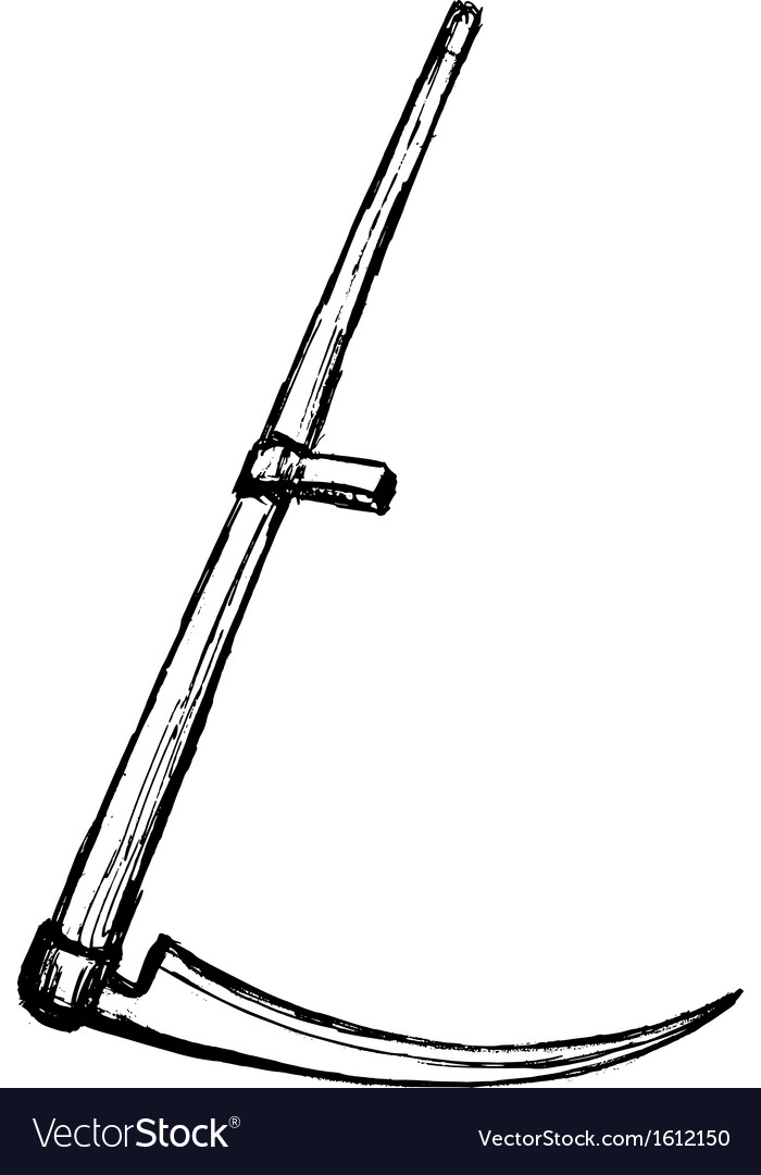 Scythe vector image