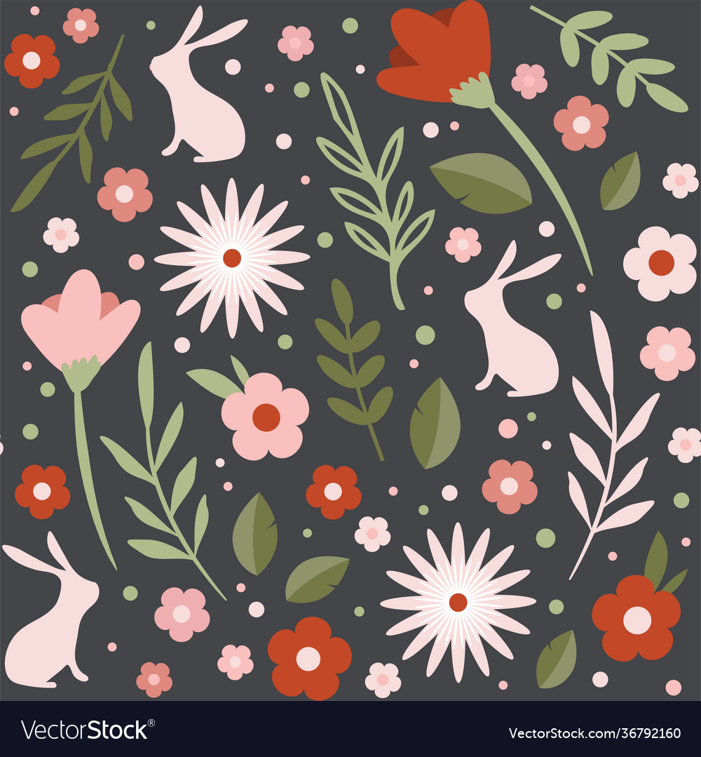 Easter seamless patterns spring pattern for