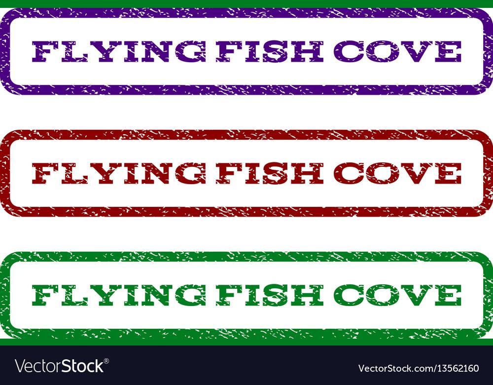 Flying fish cove watermark stamp