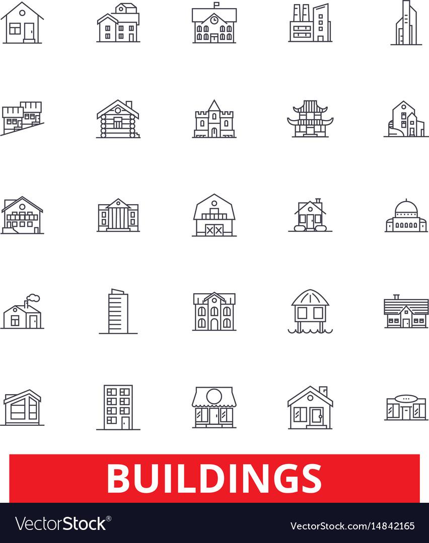 Buildings houses city architecture
