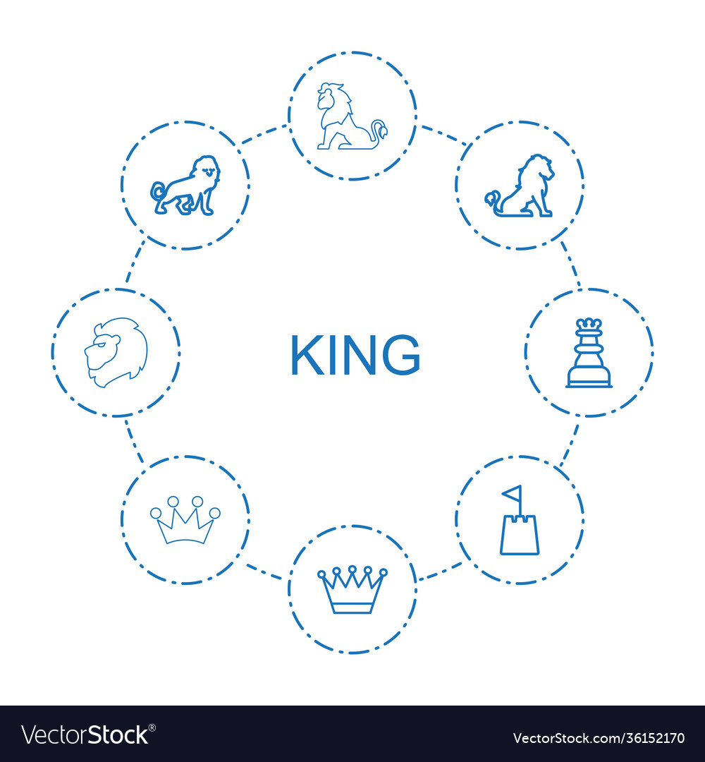 8 king icons