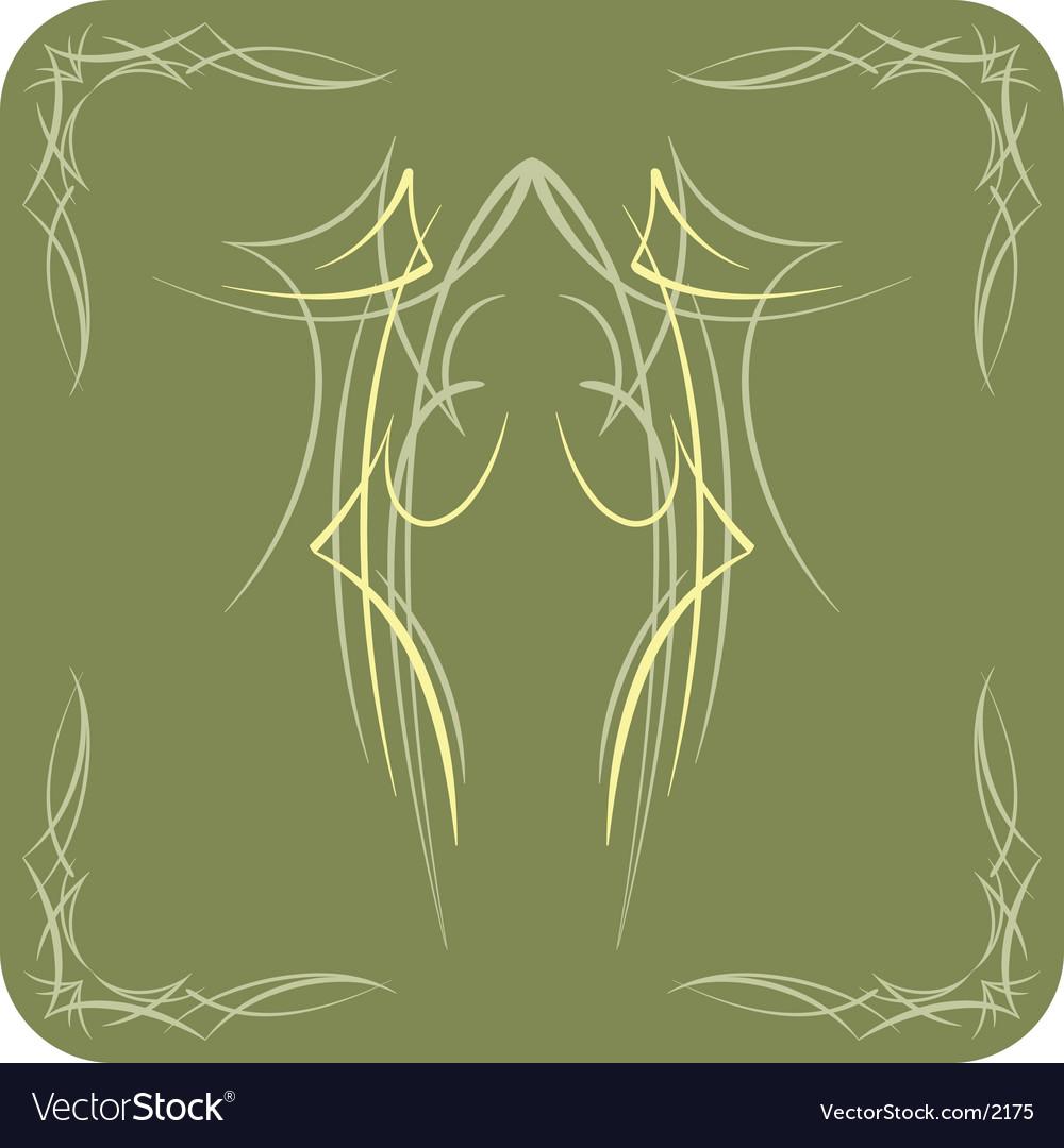 Pinstripe vector image