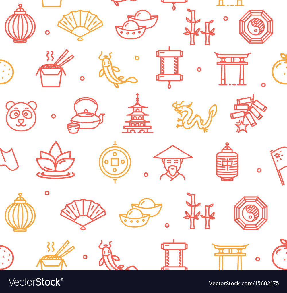 Symbol of china pattern background